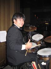 Photo: drummer (Tadeu) Kuroda