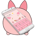Pink Cute Piggy Theme icon