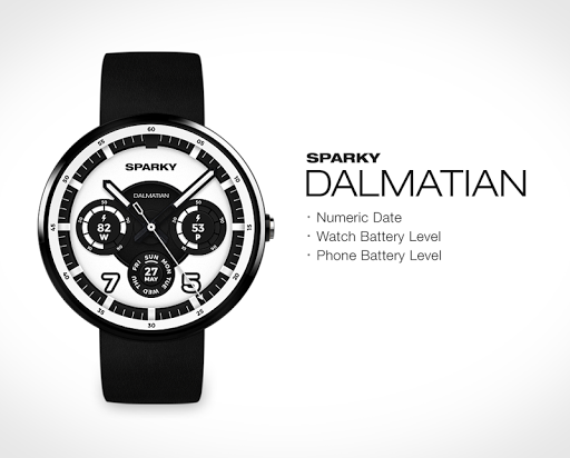 Dalmatian watchface by Sparky