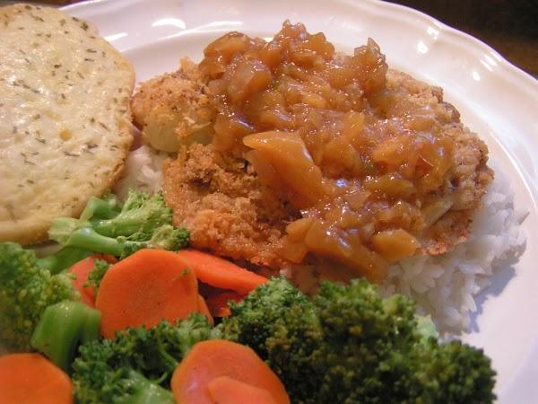 Pamesan, Panko Crusted Tilapia W/didi's Chutney Recipe