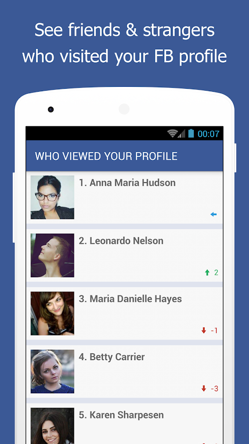 Profile visitors for fbook apk download free entertainment app.