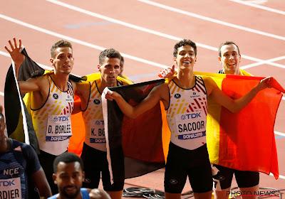 Belgian Tornados maken indruk en plaatsen zich voor finale op de 4x400 meter