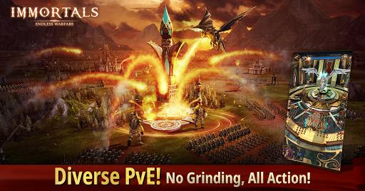 Immortals: Endless Warfare apkmr screenshots 5