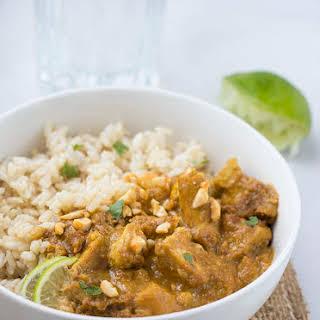 Thai Coconut Curry Tofu.