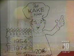 Photo: KAKE TV was an early part of Wichita.  KAKEMAN was a personification of their entitity.   Your parents could relate to this if you can't.