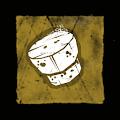 厚いコルク栓