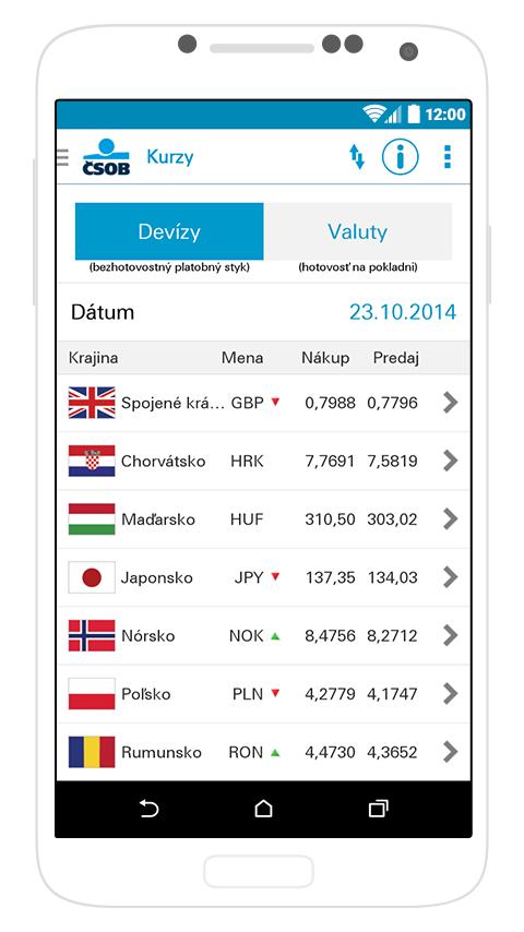 SmartBanking SK- screenshot