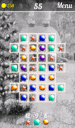 Match 3 - Winter Wonderland screenshot 3