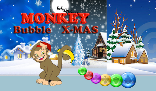 Monkey Bubble Christmas