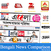 Bengali News:ABP Ananda,24 Ghanta,Zee Bangla,Ebela Android APK Download Free By Active News