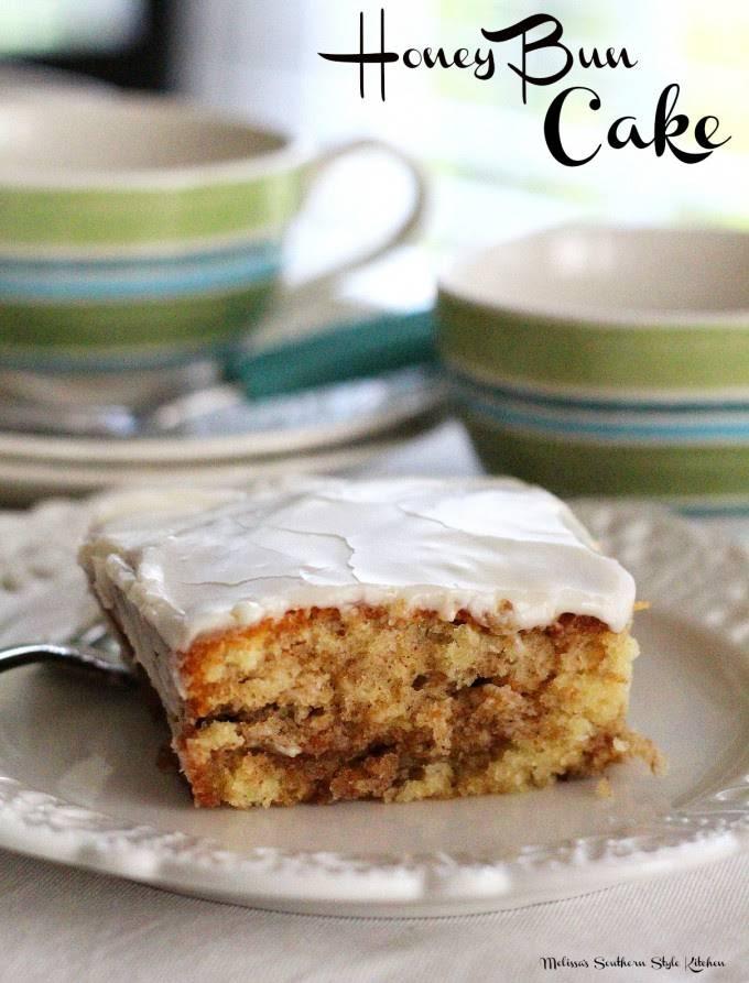 Honey Bun Cake Recipe With Sour Cream