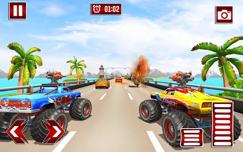 Monster Shooting Car:Highway Shooting Game for PC-Windows 7,8,10 and Mac apk screenshot 4