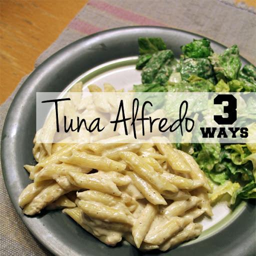 recipe: tuna alfredo with penne pasta [32]