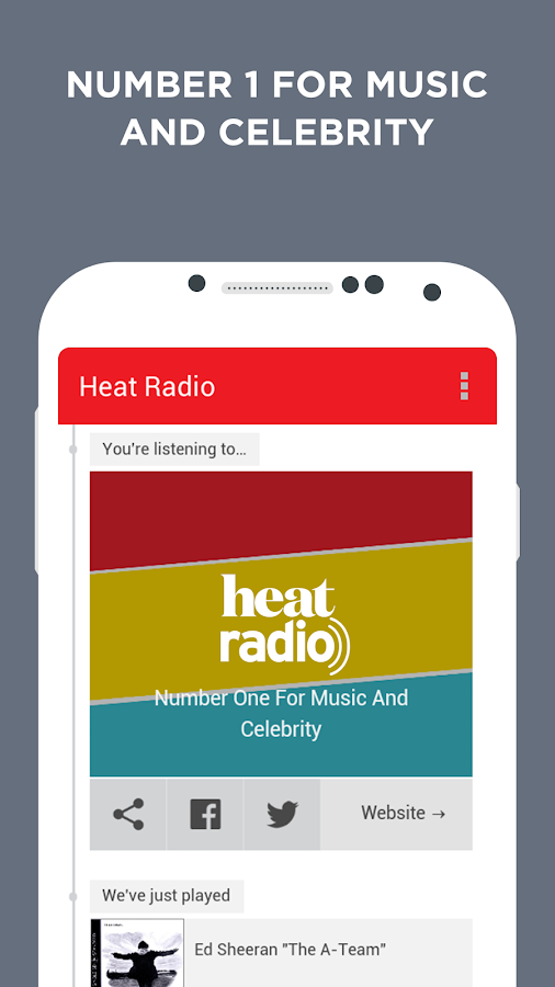 Heat Radio- screenshot