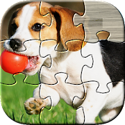 Dog Puzzles - Play Family Games with kids