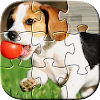 Dog Puzzles Kids Games