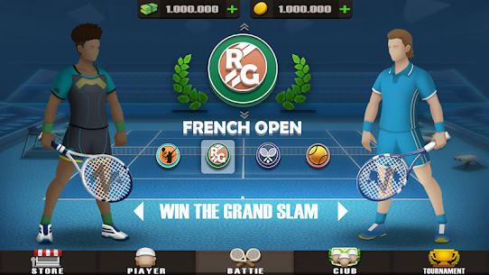 Pocket Tennis League MOD (Unlimited Gold Coins) 6