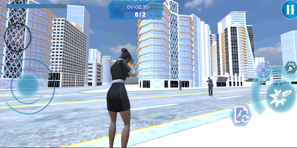 Vegas Crime City Girl Simulator 2