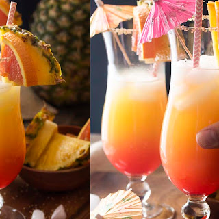 Coconut, Orange, and Pineapple Rum Punch Recipe