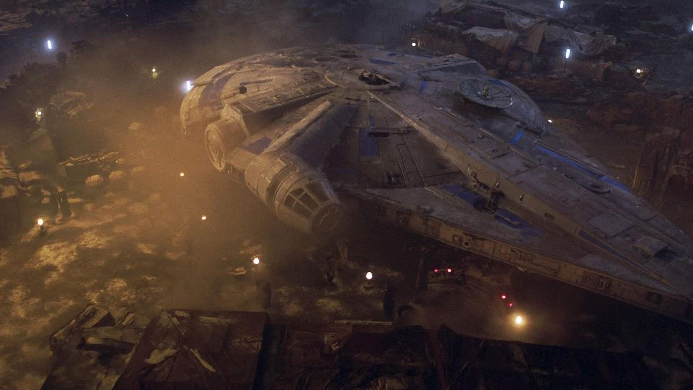 Han Solo - Gwiezdne Wojny - Historie - Sokół Millenium