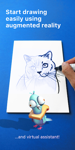 SketchAR: how to draw with AR 4.11-play screenshots 1