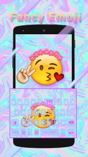 Fancy Emoji Kika KeyboardTheme