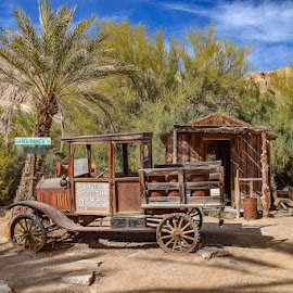 China Ranch Date Farm by Tamara Buelens - Transportation Automobiles ( ranch, automobile, nature, dates, california )