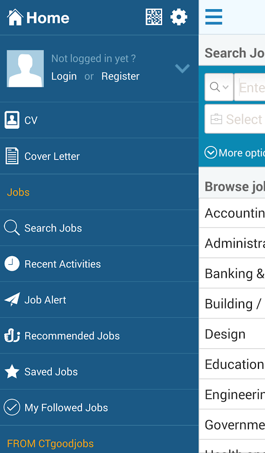 Job Search - CTgoodjobs - screenshot