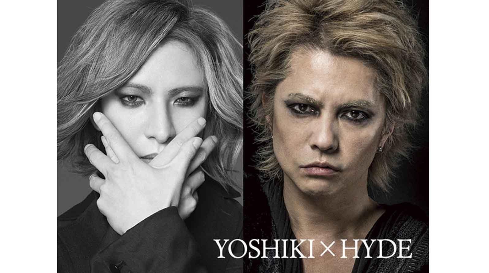 『YOSHIKI×HYDE』再次夢幻同台!