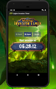 wow bfa invasions timer