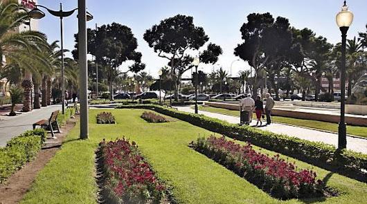 Parque Nicolás Salmerón, una de las principales zonas verdes de la ciudad