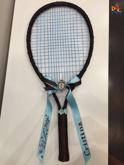 La raqueta de Cristina