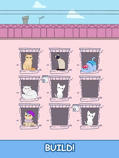 Cats Tower - Merge Kittens 2 2.18 screenshots 9