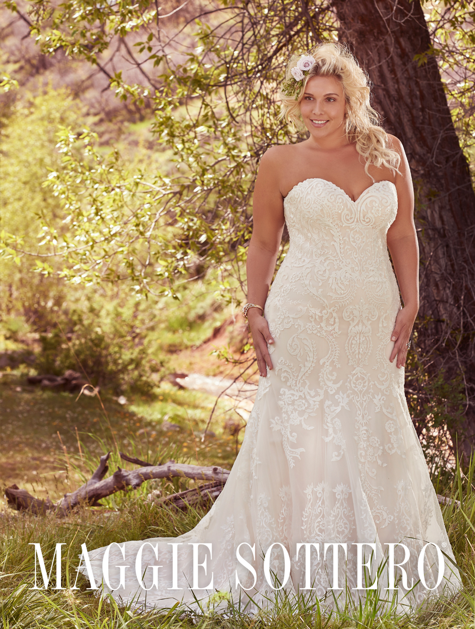 The Bridal Collection Plus Size Wedding Dress
