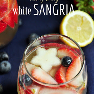4th of July White Sangria.