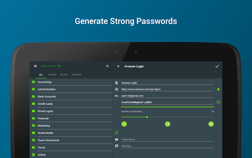 Keeper Password Manager Screenshot