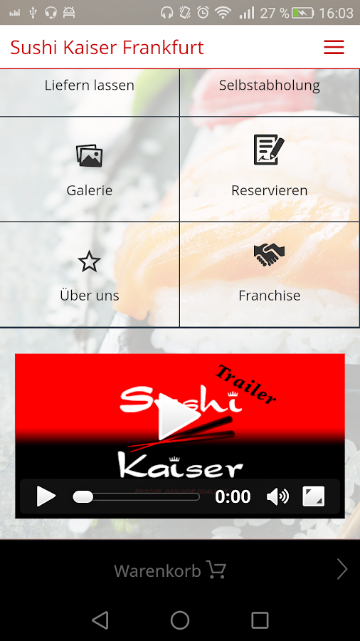 sushi kaiser android apps on google play. Black Bedroom Furniture Sets. Home Design Ideas