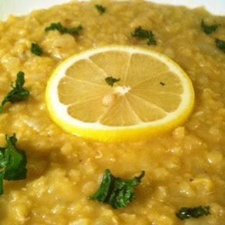 Lemon Lentil Soup.