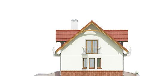 Dom Dla Ciebie 1 w2 z garażem 2-st. A1 - Elewacja lewa