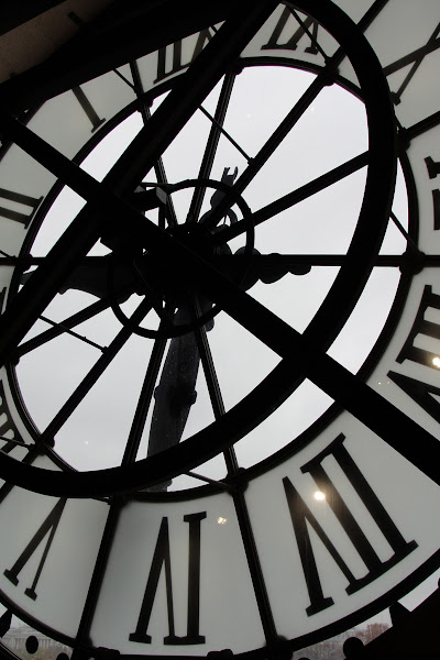 Photo: Interior of the clock in the cafe at Musée d'Orsay, Paris