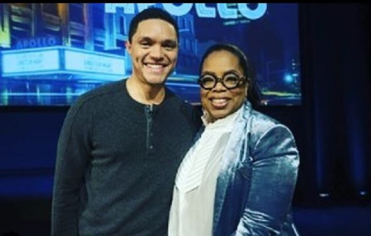 Trevor Noah bags SuperSoul Sunday interview with Oprah.