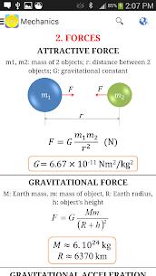 Physics Formulas Free 2