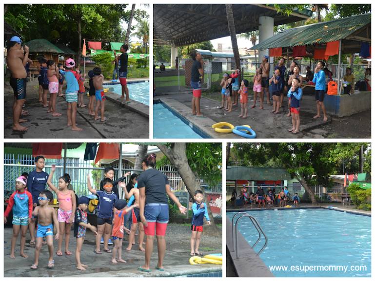 Milo Swimming Sports Clinic at Citihomes subdivision, Cavite