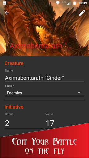 Initiative Tracker for D&D  {cheat|hack|gameplay|apk mod|resources generator} 2
