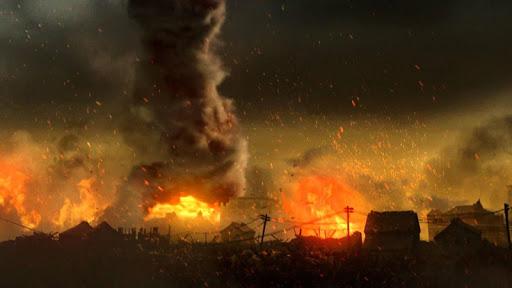 Tornado Fire Live Wallpaper