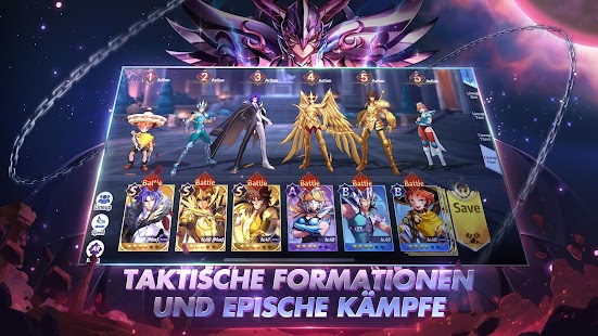 Saint Seiya Awakening: Knights of the Zodiac Screenshot