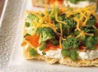 Easy Vegetable Squares Recipe