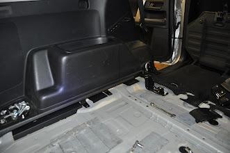 Photo: Removing the rear interior
