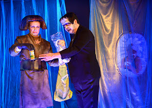 """Photo: Theater an der Wien/ Spielort """"Hölle"""": """"IM SIEBENTEN HIMMEL"""" von Georg Wacks nach Fritz Grünbaum. Premiere 28. 10.2015. Martin Thoma, Christoph Wagner-Trenkwitz. Copyright: Barbara Zeininger"""