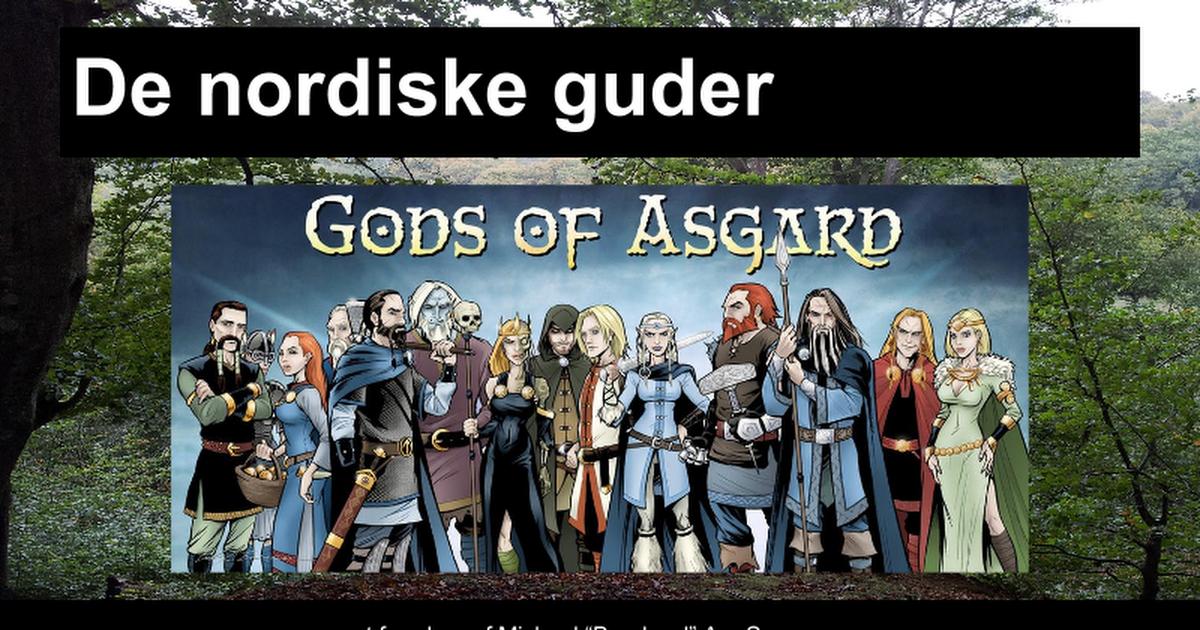 Nordiske guder v2 - Google Slides